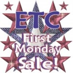 ETC First Mondays sale!