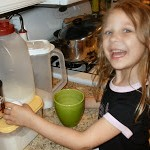 Lauren makes a cake…