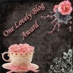 One Lovely Blog Award For Me!