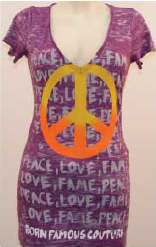 Peace, Love, Fame Giveaway