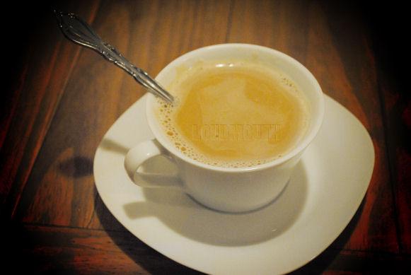 White Coffee Cup Caramel Macchiato