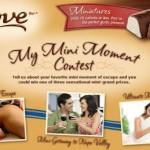 """Dove Ice Cream """"My Mini Moment"""" Contest"""