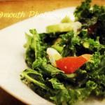 My Favorite Raw Kale Salad Recipe