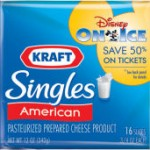 Save 50% on Disney On Ice with KRAFT Singles!
