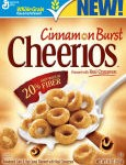 Cinnamon Burst Cheerios and Giveaway!