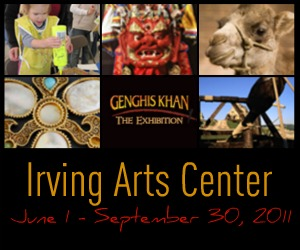 Genghis Khan at the Irving Arts Center #GenghisDFW