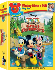 Mickey's Great Outdoors on DVD!
