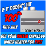 Possibly Free Tankless Water Heater from Baker Brothers Plumbing!