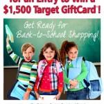 Target Back to School Sweeps!