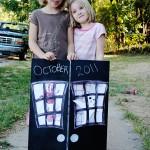 How to Make a Spooky October Calendar! #GlueNGlitter