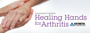 Massage Envy has Partnered with the Arthritis Foundation to Host Healing Hands for Arthritis