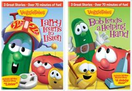 VeggieTales Bob Lends A Helping Hand & Larry Learns To Listen Review and Giveaway!
