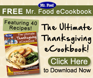 The Ultimate Thanksgiving Free eCookbook