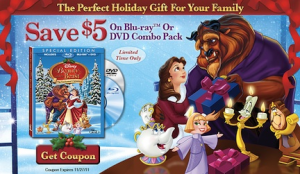 Beauty & The Beast: The Enchanted Christmas and Beauty & The Beast: Belle's Magical World Coupon!