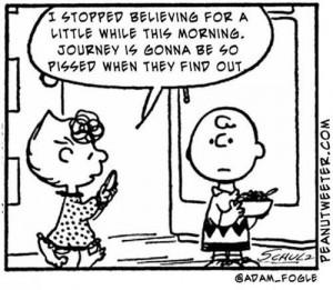 Positivity, Don't Stop Believing…