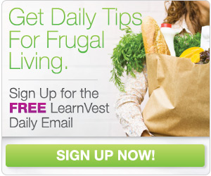 Get Daily Tips for Frugal Living!