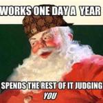 Santa's Job…