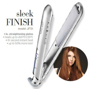 John Frieda Premium Straightening Iron Review and Giveaway! #hebbeauty