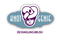 Knot Genie Detangling Brush, No More Crying Kids…