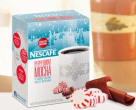 ... So Average Mama reader will win Nescafe Peppermint Mocha stick packs