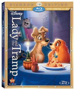 Lady and the Tramp, Diamond Edition on Blu-ray & DVD