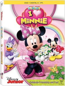 Mickey Mouse Clubhouse, I Heart Minnie Valentine Goodies!