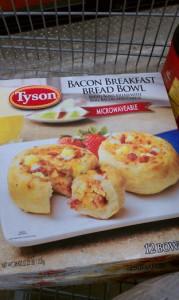 Tyson Breakfast Bread Bowls #TysonBreakfast #Cbias