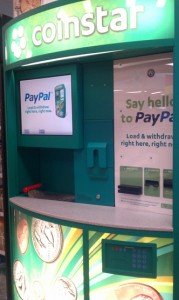 Using Coinstar to Add Funds to My Paypal Account, So Easy!  #PaypalCoinstar #CBias
