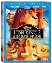 THE LION KING 1.5 and THE LION KING 2: Simba's Pride on Special Edition Blu-ray Combo Pack!