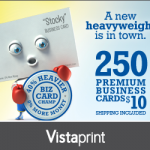 250 Business Cards for $10 Shipped!