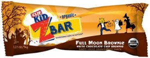 CLIF Kid Zbar Full Moon Brownie, Great Idea for Halloween Treats!