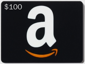 Amazon Gift Card #Giveaway $100!