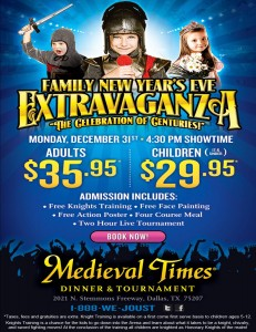 Looking for a Family Friendly way to ring in the New Year!? #Dallas