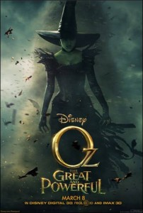 OZ THE GREAT AND POWERFUL lands in theaters on March 8, 2013!