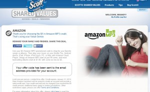 Did You Remember to Sign up for Scott Shared Values?
