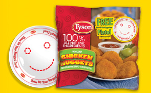 Playing with Food to Help Picky Eaters #TysonPickyEaters (share your success story for a chance to win a $1,000!)