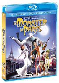 A Monster in Paris now on 3D Blu-ray Combo Pack and DVD