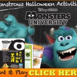 Mike & Sulley's Monstrous Halloween Activities!