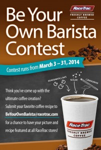 RaceTrac's Be Your Own Barista Contest! Also $25 RaceTrac Gift Card Giveaway #ad #CrazyGoodCoffee