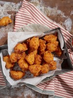 Cheddar Bacon Hush Puppies