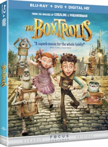 The Boxtrolls Coming Soon on Blu-ray, DVD & Digital HD!