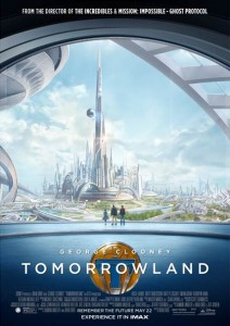 Disney's TOMORROWLAND starring George Clooney