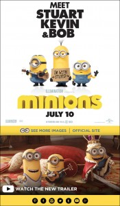MINIONS In Theaters July 10
