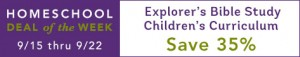 Explorer's Bible Study Children's Curriculum Sale