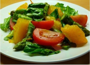Asparagus Orange Salad Recipe
