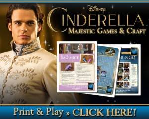 Cinderella Printable Crafts and Games