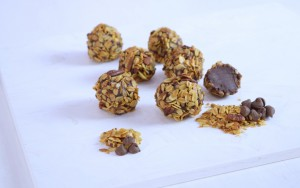 Homemade Granola Truffles Recipe