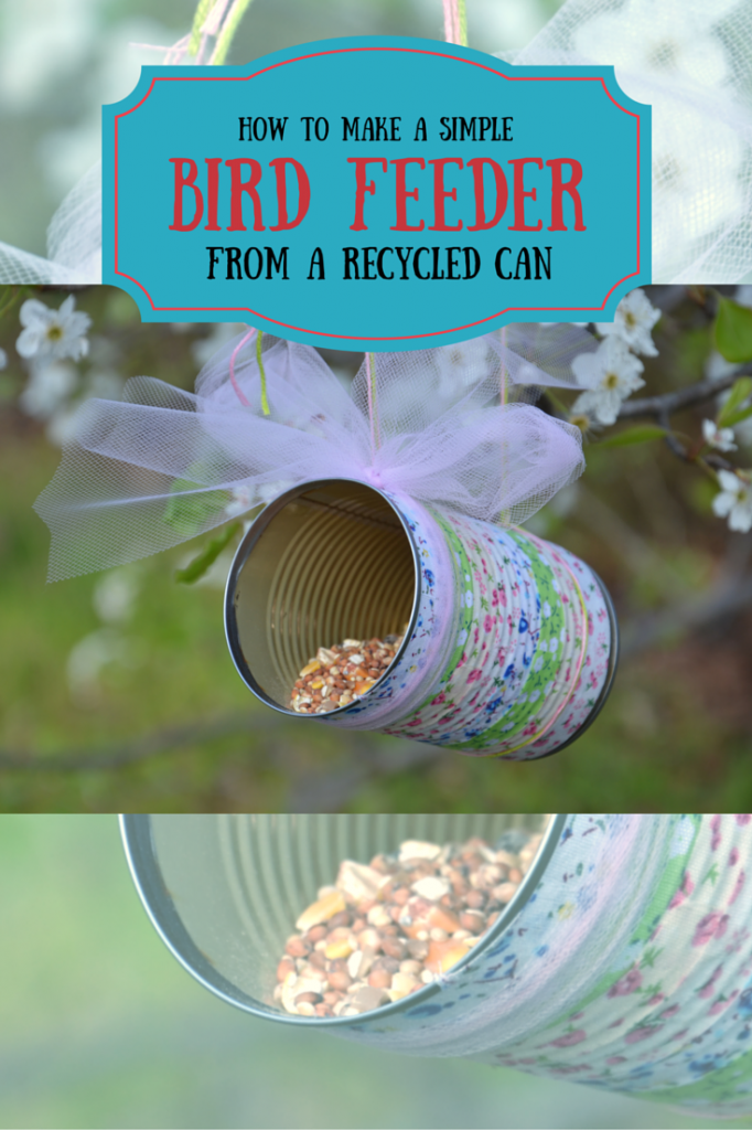 How to make a simple bird feeder not so average mama for How to build a bird feeder easy