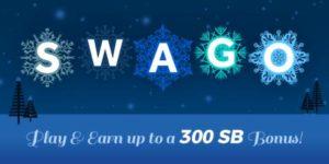 SWAGO 300 Swagbucks Bonus!