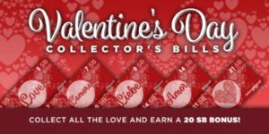 Valentine's Day Collector's Bills